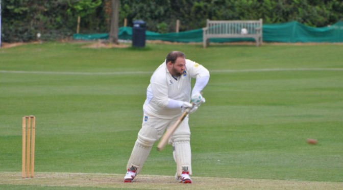 Sunday XI Lose but lay down an early yard long Ashes Marker