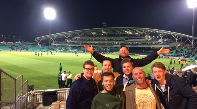 Stokers at The Oval on Friday 15th