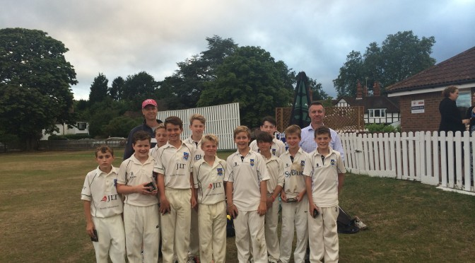 Under 12s 2015 Cup Final