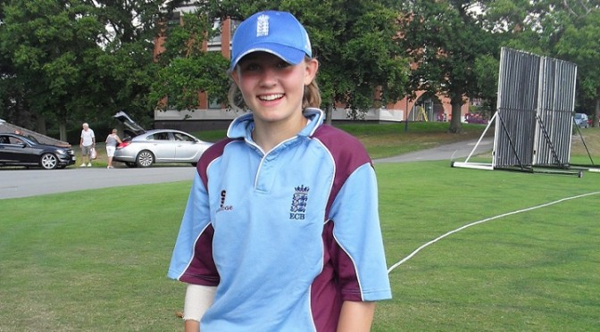 England Academy Selection for Alex Travers