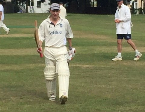 Century for Malcolm Dickson as the 3rd XI beat Woodmansterne