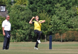 Ian Hopton Bowling in STL 1 by MHS