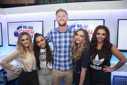 Toby Tarrant and Little Mix