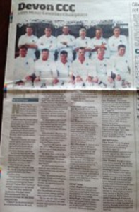 Gareth Townsend in The Cricket Paper