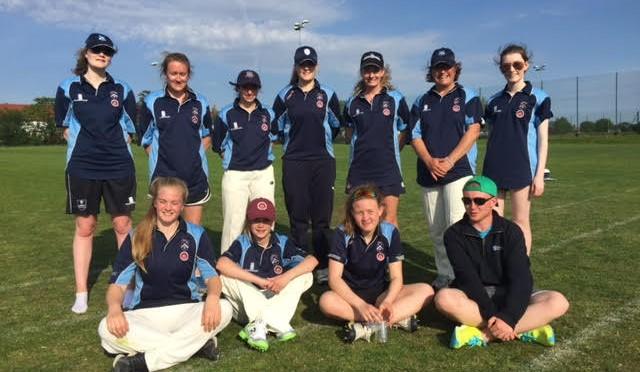 Ladies Win Scorching Season Opener