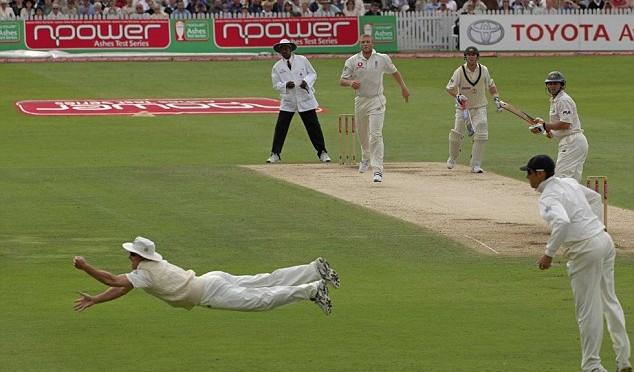 Strauss Catch v Australia in 2005