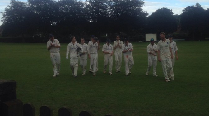 Stalemate for the 1st XI at Churt