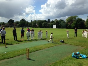 Under 10s v Valley End 2016 - Bowl Off