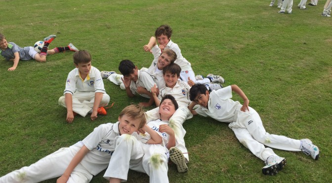 Under 9s Champions in 2016