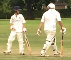 Alex Clinton and Will Thomson v Oxshott - August 2016