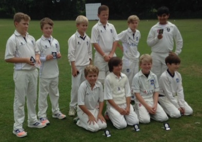 Under 10s Cup Runners Up 2016