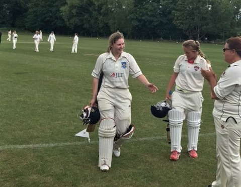 Ladies Frighten Title Chasing Shepperton