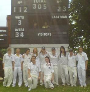 Wokingham v Stoke Ladies 2008