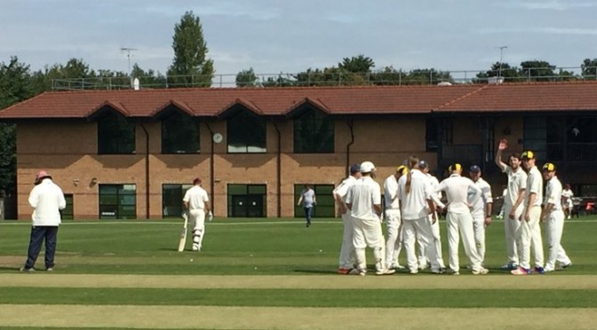 2nd XI Huddle v Cheam - August 2017