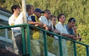 Toby Roland-Jones watching Finals Day in 2009