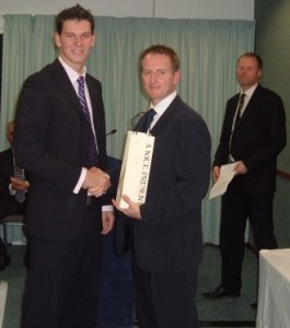 Ali Brown with Will Gudgeon The Oval 2008