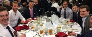 League Dinner 2017 Amateurs Table Oval