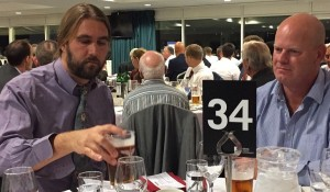 League Dinner 2017 Po and Andy B Oval