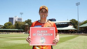 Nat Perth Scorchers Player of the Match