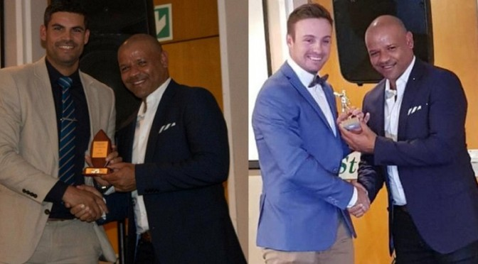 Ian Hopton and Shawn Dyson with Ashwell Prince WPCC Awards 2017 2018