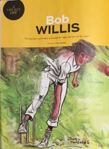 Bob Willis Wisden Cartoon
