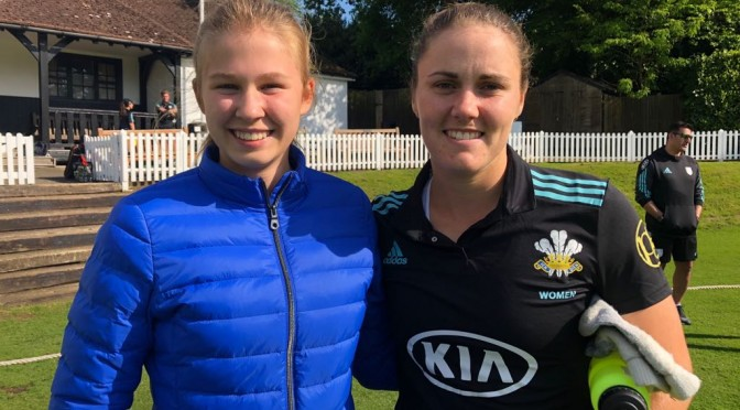 180 Not Out for Nat as Surrey Women Win Big