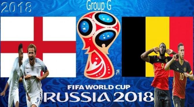 England v Belgium Flyer