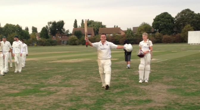 Will Thomson Century but Stoke fall just short at Ashford