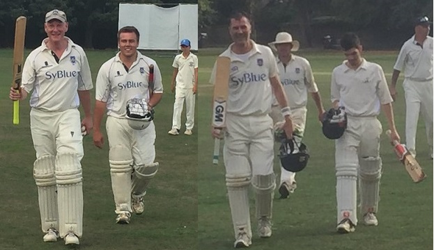Finch 85 not out and Phipps 51 not out v Whiteley Village and Kingstonian September 2018