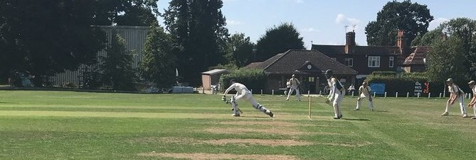 2nd XI play well but end League season with defeat to Camberley