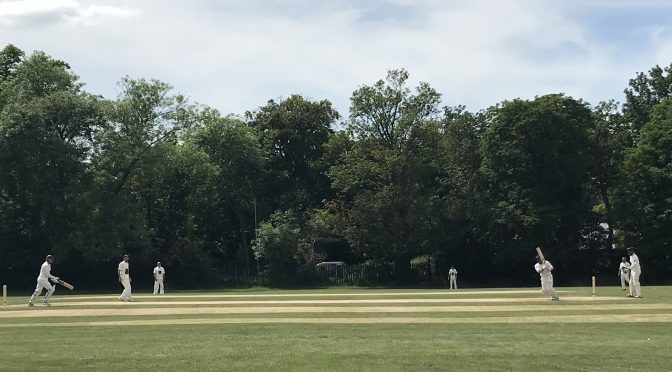 Century for Harry Nawaz as the 3s win at Cheam