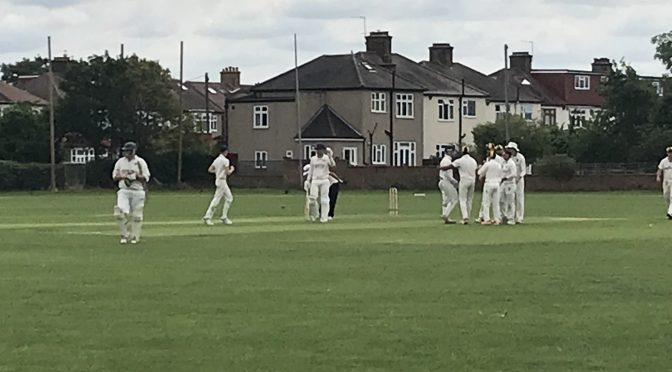 1st XI win at Old Rutlishians