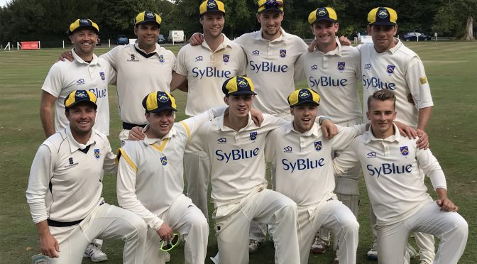 1st XI Promoted with big win at Farnham